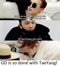 Taeyang vs. Gd :D