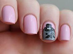 Pusheen themed nail art!