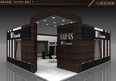 Safaş Exclusive Exhibition Stand Design @ Fair istanbul turkey | Arkhe Mimarlık   http://www.fairistanbulturkey.com/ExhibitionExclusiveFairStandDesign.aspx