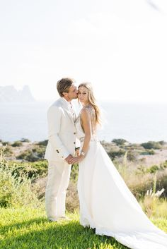 Photography : Ana Lui Photography  Read More on SMP: http://www.stylemepretty.com/destination-weddings/2015/05/04/bohemian-beach-wedding-in-ibiza/