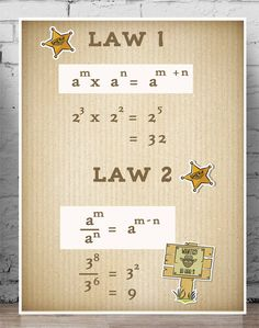index laws poster - Google Search