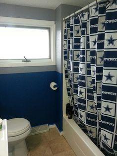 Dallas Cowboys Bathroom