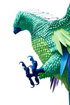 phoenix model Paper Cut