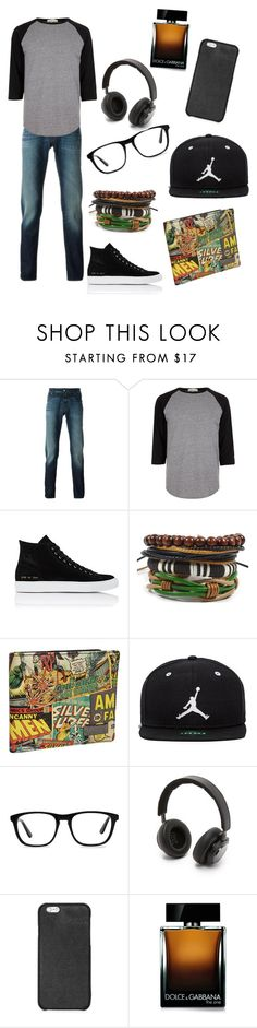 """""""❤️"""" by whysorude on Polyvore featuring Jacob Cohёn, River Island, Common Projects, Marvel, Jordan Brand, Ace, B&O Play, Michael Kors, Dolce&Gabbana et men's fashion"""