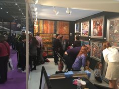 Wyecliffe Galleries at the Grand Designs Live exhibition 2015.