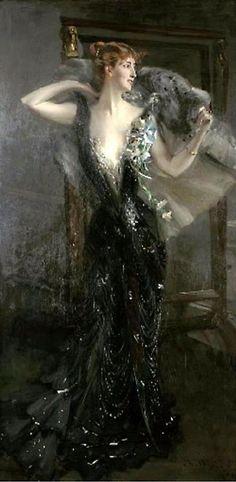 La Contessa Speranza Painting by Giovanni Boldini - Oil Painting