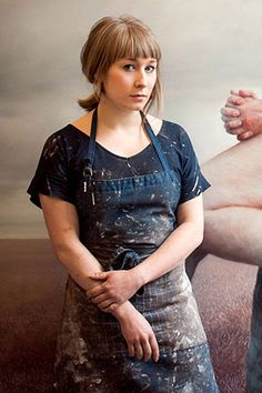 My portrait of artist Aleah Chapin was just published in Elle!  SO EXCITING!