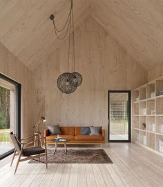 How To Add Character To Basic Architecture: Unfinished Wood - Emily Henderson Emily Henderson How To Add Character To Basic Architecture Walls Celings Wood Unfinished Raw 4 Plywood Interior, Plywood Walls, Wood Interior Walls, Plywood House, Plywood Ceiling, Cabin Interiors, Wood Interiors, Interior Architecture, Interior Design
