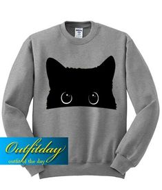 For Sale Siamese Cats Cat Sweatshirt, T Shirt, Cat Whisperer, F2 Savannah Cat, Cute Black Cats, Yellow Cat, Cat Grooming, Direct To Garment Printer, Black Sweaters