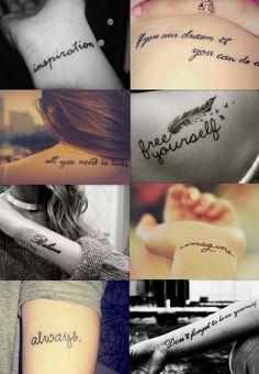 tetování na zápěstí nápisy - Hledat Googlem