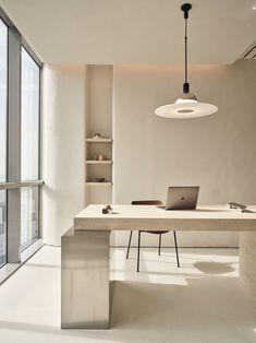 Shop Interiors, Office Interiors, Design Interiors, Office Interior Design, Workspace Design, Nordic Interior Design, Tadelakt, Minimalist Interior, Interior Inspiration