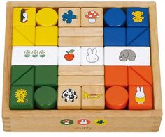 Miffy Blocks (japan import): Amazon.co.uk: Toys & Games
