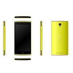 "Leagoo Elite 5 de Telefonía Móvil 4G 5.5"" Pulgadas Android 5.1 HD Smartphone Teléfono FDD-LTE WCDMA GSM 1.0GHz 64-Bit Quad Core Dual SIM Doble Modo de Espera Cámaras 13.0MP 8.0 Megapíxeles GPS Bluetooth 4.0 WiFi 2GB 16GB, Amarillo (Cargador Reino Unido) LEAGOO"