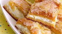 What better sweet treat during warm summer months than these chilled, lemon cream cheese bars? These bars are&… Desserts Lemon Cream Cheese Bars Lemon Cream Cheese Bars, Cream Cheese Crescent Rolls, Low Fat Cream Cheese, Crescent Roll Dough, Lemon Bars, Cream Cheese Snacks, Recipes Using Cream Cheese, Cream Cheese Brownies, Easy Cream Cheese Desserts