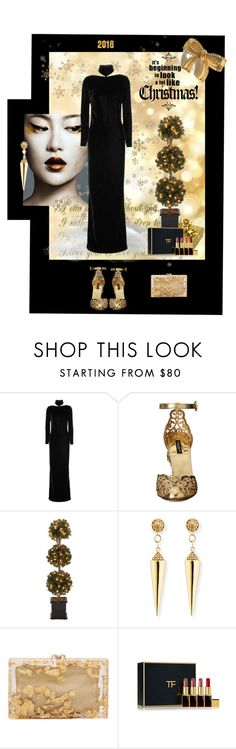 """Christmas Mood"" by kapua-blume ❤ liked on Polyvore featuring WALL, Tom Ford, Dolce&Gabbana, Sydney Evan, Charlotte Olympia, http and TRENDSCHMIEDE"