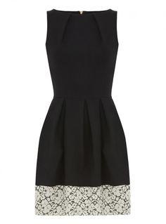 Lace Hem Dress by Closet at Stylistpick, £48.