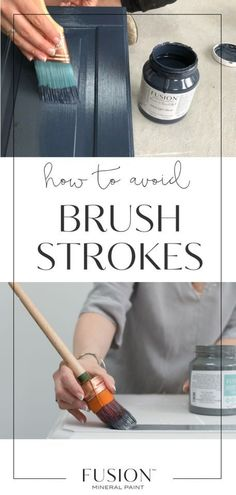 Sometimes brush strokes add character, but sometimes they just aren't wwhat you are going for... Learn how To Not Get Brush Strokes When Painting • Fusion™️ Mineral Paint #BrushStrokes #Brush #Paint #DIY #HomeDecor