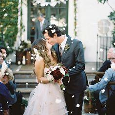 Creative wedding exi