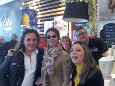 Ana, Charo y yo y fular de seda JULUNGGUL www.julunggul.com