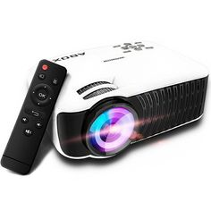Home Cinema Mini Video LED Projector 800*480 Resolution   Android Ios Ps4 Ap Tv #homecinemaprojector