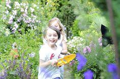 Fröhlich gärtnern mit Kindern