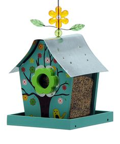 Take a look at the Four Seasons Retro Chic Bird Feeder on #zulily today!