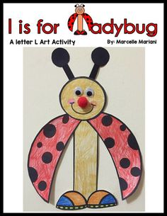 This package contains an art template for the letter L  that can be used when teaching the letter Ll. The art in this file can also be used with an insects theme unit to make connections in literacy by associating the L with the Ladybug when teaching an insects unit with young students.