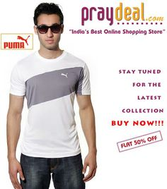 Stay Tuned for the Latest Collection of Puma T-Shirt on www.praydeal.com