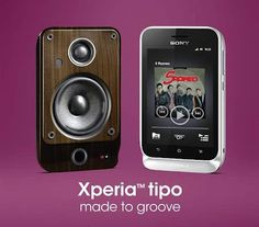 Sony Xperia Tipo - Ponsel android MURAH yang mengandalkan fitur musik/audio. Cocok banget buat anak muda yang hobi dengarin musik.