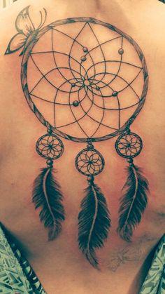 dream catcher butterfly tattoo - Αναζήτηση Google