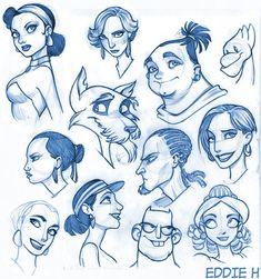 Faces by EddieHolly.deviantart.com on @DeviantArt