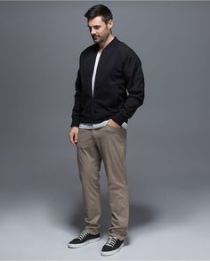 """Lululemon's new pants have been """"engineered"""" to help guys feel free while going about their daily schedule."""