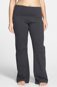 Free shipping and returns on Hard Tail Roll Waist Pants (Plus Size) at Nordstrom.com. A wide waistband tops stretch-cotton pants with slightly flared legs. Roll the waistband a lot, a little or not at all to create a high or low rise that's right for you.