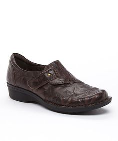 725985cc9b47 Brown Scrunch Whistle Carol Leather Slip-on Shoe Leather Slip On Shoes