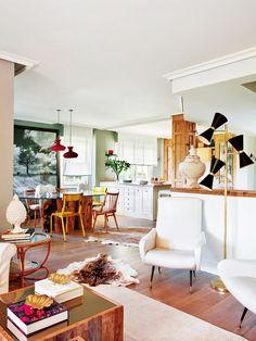 Una casa fresca y actual,  Belen Ferrandiz Interior Design. 2013