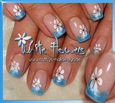 airbrushed nails | Bildergalerie - Cathys-Naildesign.de Fingernagelfachstudio und ...