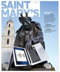 Redesigned Saint Marys College Alumni Magazine | Pentagram