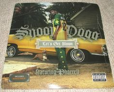 """#SnoopDogg ft #Pharrell Let's Get Blown Ups And Downs 12"""" #Vinyl #hiphop #ebay"""