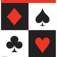 Card Night Tablecover, Plastic $16.95 20728630