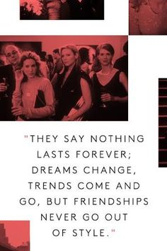 The Best Carrie Bradshaw Quotes Of All Time  #refinery29  http://www.refinery29.com/2015/03/84420/carrie-bradshaw-sex-and-the-city-quote#slide-3  Samantha, Charlotte, and Miranda always stood by her side — always loyal and stylish.