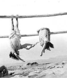 awesome photo by Sergio Larrain; would love to recreate this shot with my girls