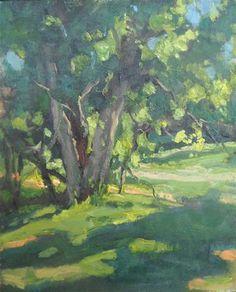""" Tree Path"" - Original Fine Art for Sale - © Michael McConnell"