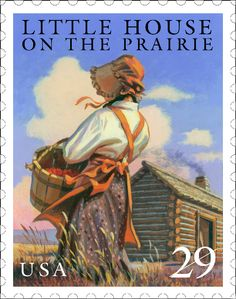Little House on the Prairie stamp.... that's cool