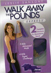 Amazon.com: Leslie Sansone - Walk Away the Pounds - Express - Miles 3 & 4 with Stretchie: Leslie Sansone: Movies & TV (2007)