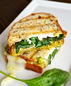 Avocado Goat Cheese Grilled Cheese Sandwich