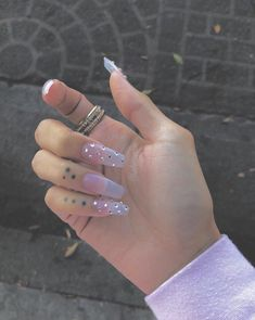In seek out some nail designs and some ideas for your nails? Listed here is our list of must-try coffin acrylic nails for cool women. Perfect Nails, Gorgeous Nails, Pretty Nails, Best Acrylic Nails, Acrylic Nail Designs, Jolie Nail Art, Aycrlic Nails, Coffin Nails, Glitter Nails