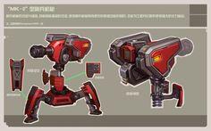ArtStation - Old works for《Final Combat》from 2012, Rock D