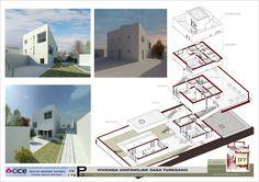 mundo 3d: 3ª PRACTICA CON REVIT. PRESENTACIÓN CASA TURÉGANO. ARQUITECTO: CAMPO BAEZA Project Methodology, Building Information Modeling, Arch House, Conceptual Design, Brochure Design, House Plans, Floor Plans, Projects, Civil Engineering