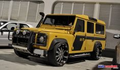 Overkill Land Rover Defender