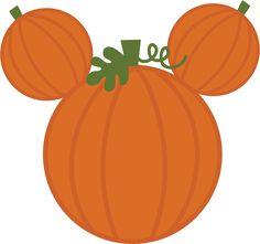 Mouse Pumpkin SVG cut files for scrapbooking mouse ears svg files free svg files… Disney Halloween, Scary Halloween, Fall Halloween, Halloween Crafts, Halloween Decorations, Halloween Cups, Halloween 2020, Disney Diy, Disney Crafts